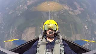 My ride along with Blue Angel #7 Navy Lt. Cary Rickoff