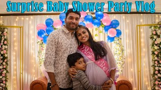 Surprise baby Shower Party Vlog Part 1