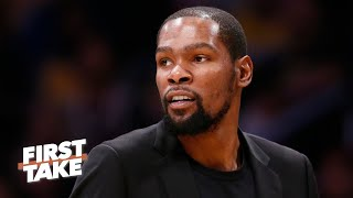 Reacting to Kevin Durant's NBA Finals prediction | First Take