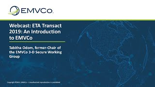 An Introduction to EMVCo - May 2019